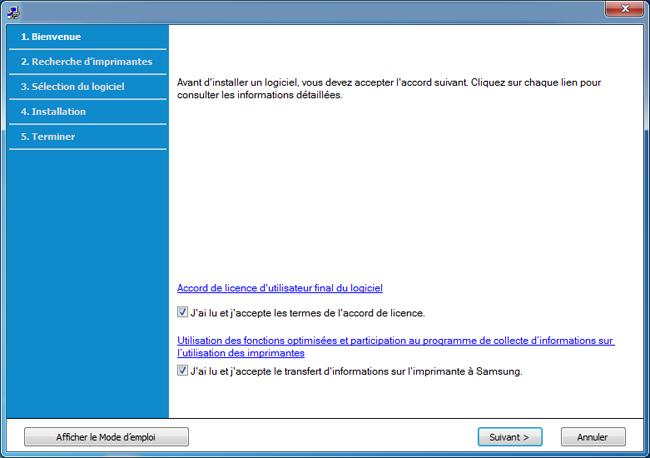 l'utilisation du disque du programme d'installation de Windows