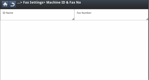 faxing optional